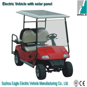 Solar Golf Car with 185W Solar Panel pictures & photos
