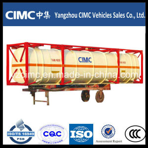 Cimc LPG Storage Tank 40 Feet ISO Tank Container pictures & photos