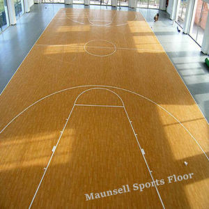 2017 Cheapest Hot Sale PVC Roll/Interlock Basketball Flooring pictures & photos