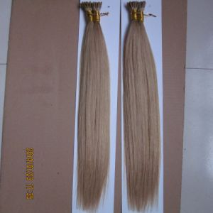 European Virgin Remy Micro Bead Stick I Tip Hair Extension pictures & photos