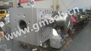 Gmach High Pressure Large Flow Rate Melt Gear Pump for Plastic Extrusion Production Line pictures & photos