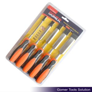 5PCS Deluxe European-Type Wood Chisel Set
