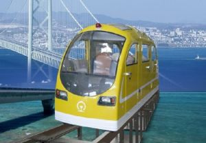 Yellow Electric Railway Trail Car pictures & photos