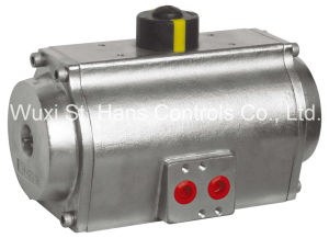 Rack and Pinion Stainless Steel Pneumatic Actuator (α A Series)