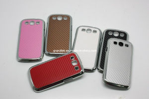 Samsung Galaxy S3 I9300 Carbon Fiber Stick Skin Hard Mobile Phone Case
