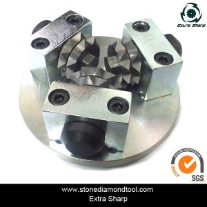 125mm 3 Rollers Diamond Bush Hammer Plate pictures & photos