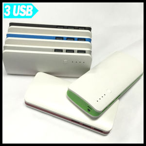 3 USB Output Portable Power Bank Big Capacity 15000mAh for Smart Device pictures & photos