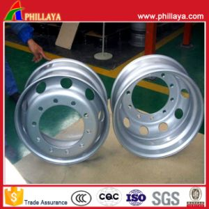 Auto Vehicle Semi Trailer Parts Steel Wheel Rim pictures & photos