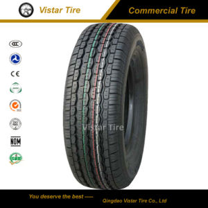 Commercial Tire 185r14c with White Side Wall (185r14c, 185r15c, 195r14c, 195r15c) pictures & photos