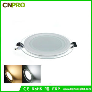 12W Round Glass LED Recessed Ceiling Downlight LED Panel Light pictures & photos