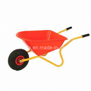 Double Wheels Wheel Barrow for American Market (WB6406) pictures & photos