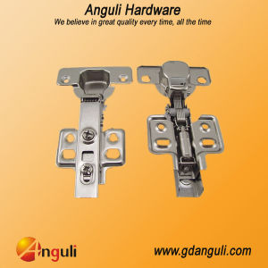Soft Closing Clip on Hydraulic Hinge for Kitchen Cabinet pictures & photos
