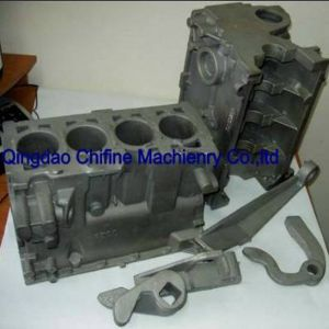 V-Process Steel Casting Gearbox Housing pictures & photos