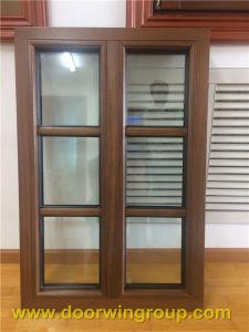 Solid Teak Wood Aluminium Windows for America Customers pictures & photos