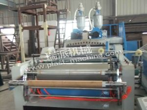 Single Layer PE Casting Film Blowing Machine pictures & photos