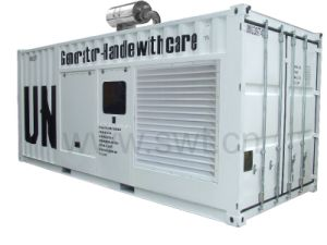 700kVA-2500kVA 20 or 40 Feet Containerized Diesel Generator Set by Cummins pictures & photos
