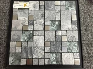 Mable Stone Mosaic Tile Good Design Pop Mosaic pictures & photos