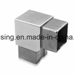 Square Glass Railing Elements Stainless Steel 316 Satin Finish pictures & photos
