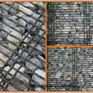65mn 45# Spring Steel Woven Crimped Square Wire Mesh pictures & photos