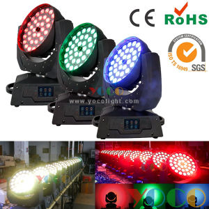 36X10W LED Wash Zoom Stage DJ Disco Moving Head Light