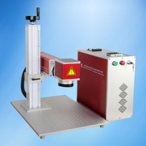 Cheap Fiber Laser Marking Engraving Machine for USB Drive pictures & photos