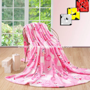Super Soft Printed Coral Fleece Blanket pictures & photos