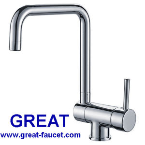 Folding Kitchen Sink Faucet Brass Kitchen Tap (GL90113A40) pictures & photos
