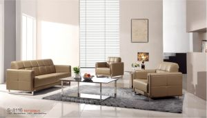 Modern Office Sofa in PU/Leather (S-8116) pictures & photos