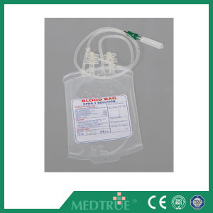 CE/ISO Approved 450ml Single Cpda-1 Blow-Extruded Blood Bag (MT58071010) pictures & photos