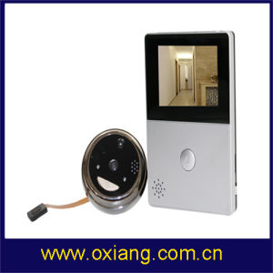 2.8 Inch Monitor Door Cat Eye Video Doorphone Camera pictures & photos