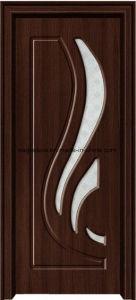 Asia Latest Design PVC Interior Wooden Doors (EI-P156) pictures & photos