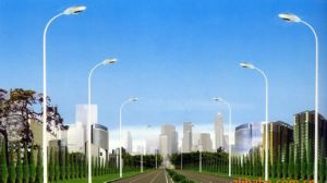 Single Arm Street Lighting Pole/Single Arm Street Lighting with LED Lamps pictures & photos