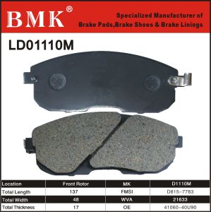 Adanced Quality Brake Pad (D1110M) for Infiniti, Nissan pictures & photos