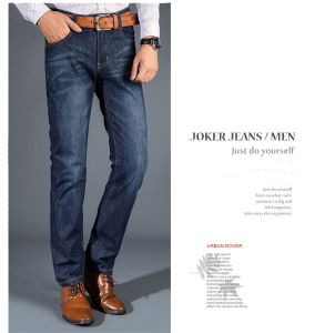 Fashion Casual Men′s Regular Fit Straight Leg Jean pictures & photos