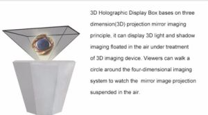 3D Holographic Projection Pyramid pictures & photos