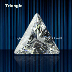Various Color Triangle Shape Cubic Zirconia pictures & photos