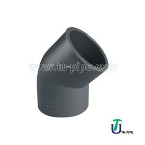 UPVC 45° Elbows DIN 8063 pictures & photos