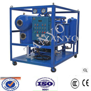 Vacuum Transformer Oil Filtration Equipment of High Effeciency with T Shape Vacuum Chember pictures & photos