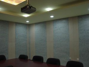 Ceiling Tile Acoustic Decorative Wall and Ceiling Panel (51) pictures & photos