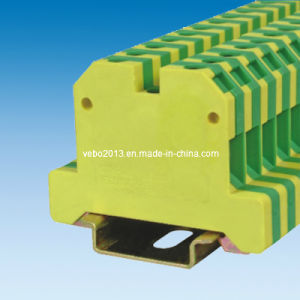 Universal Screw Connection DIN Rail Terminal Blocks Ek-4-35 pictures & photos