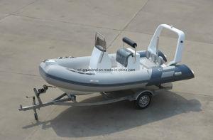 Aqualand 16feet 4.7m Rib Motor Boat/Rigid Inflatable Fishing Boat (RIB470B) pictures & photos