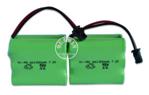 NiMH Battery AA 7.2V 1300mAh for RC Toy Battery pictures & photos