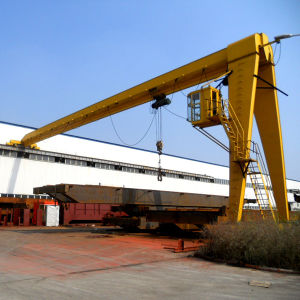 Semi Gantry Model Workshop Gantry Crane Machine Made in China pictures & photos