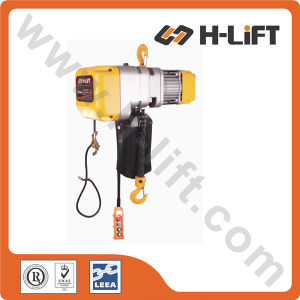0.25t - 5t Hook Suspended Electric Chain Hoist (EHB Type) pictures & photos