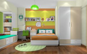 Modern Wood Kids Bedroom Furniture Set (et-003) pictures & photos