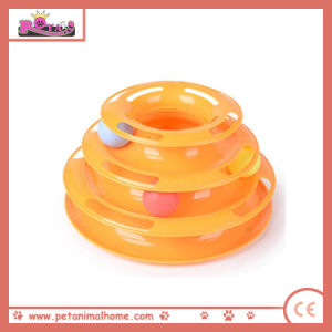 Cute Plastic Ball Pet Toy in 2 Colors (Orange) pictures & photos