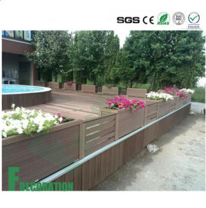 Wholesale Unique Design Modern Exterior Decking WPC Railing pictures & photos