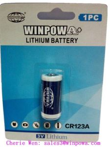 3V Cr123A Primary Lithium Battery pictures & photos