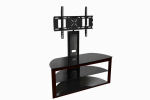 Tempered Glass TV Stand pictures & photos
