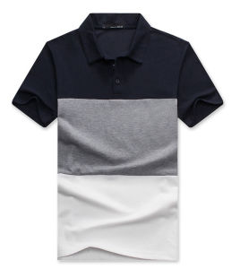 Custom Color Combination Pique Cotton Polo Shirt pictures & photos